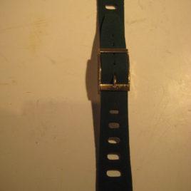 Horlogebandje groen suede