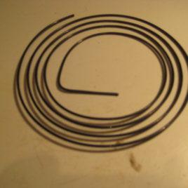 Rondgong dun 1 mm