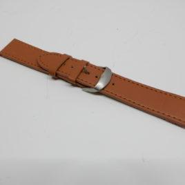 Horlogebandje Lichtbruin breed 20 mm