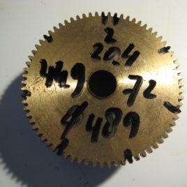 Veerton doorsnee 4,89 cm