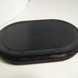 Console voor pendule ovaal klein