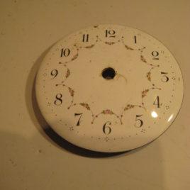 Franse pendule wijzerplaat 8,5 cm