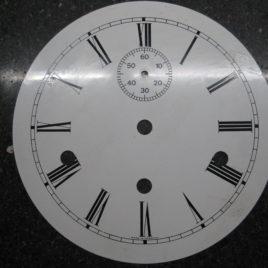 Wijzerplaat met sec doorsnee 17,5 cm 2307