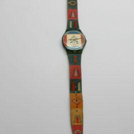 Swatch horloge borduren
