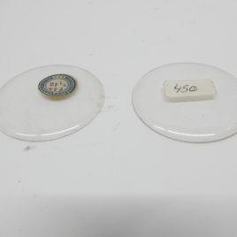 Savonette glas voor klepdeksel zakhorloge