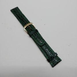 Horlogebandje blauw 20 mm stevig en gestikt