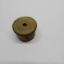 Veerton franse pendule doorsnee 3,56 cm 80 tanden
