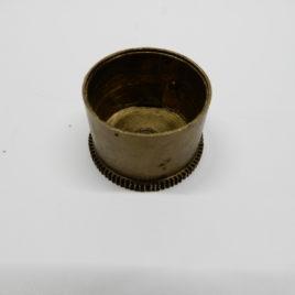 Franse pendule veerton  80 tanden doorsnee 3,64 cm no 25