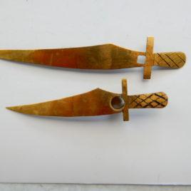 Wijzers model zwaarden 7 en 9,5 cm no 11