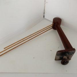 Gong op poot lengte gongen 26,23,21 cm