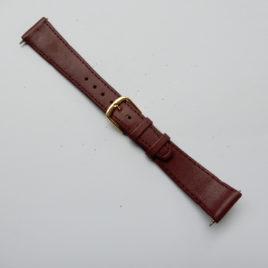 Horlogebandje 18 mm glad paars