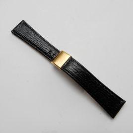 Horlogebandje 20 mm zwart spec sluiting