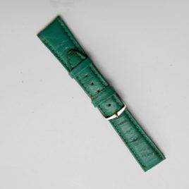 Horlogebandje groen 20 mm