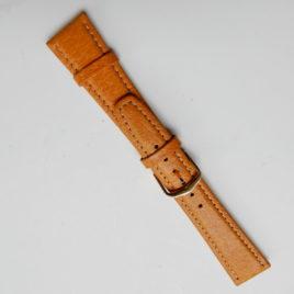 Horlogebandje licht bruin 20mm