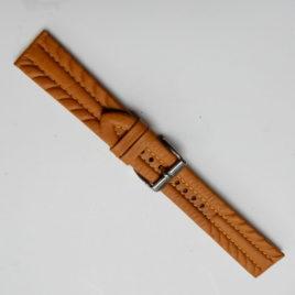 Horlogebandje bruin stevig 20mm