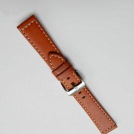 Horlogebandje middenbruin 20 mm
