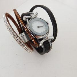 Dames 5 bandjes horloge met magneet sluiting no 29
