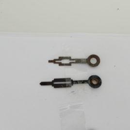 Art deco wijzers 3,5 en 3 cm no 4