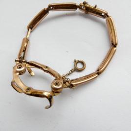 Double Klauw armband voor dames zakhorloge