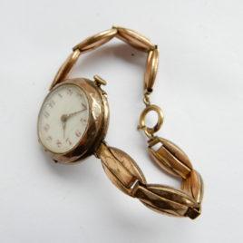 Double armband met zakhorloge 1900