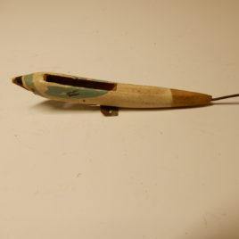 Koekoek vogeltje  lengte 8 cm glad