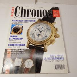 Chronos Magazine fur Uhren usw