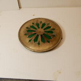 Franse pendule achterdeurtje doorsnee 11,8 cm no 2