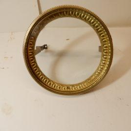 Franse pendule voordeurtje doorsnee 11,3 cm