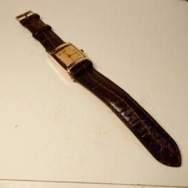 Vierkant horloge schilpad pandje no 72