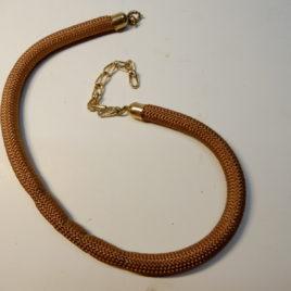 Horloge ketting gevlochten lengte 45cm