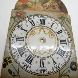 Friese staartklok oud handgeschilderd no 103