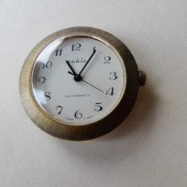 Ruhla horloge bewerkte rand doorsnee 4 cm no 38