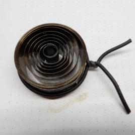 Klokveer breedte 2,1 cm dikte 0,26 doorsnee ton 3 cm no 77