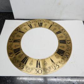 Wijzerplaat doorsnee 24,5 cm oud no 99