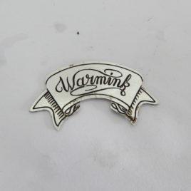 Warmink embleem breed 43,6 mm  no 1