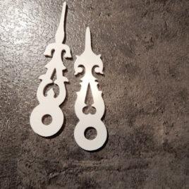 Koekoekswijzer 6,5 en 5,5 cm no 7